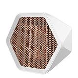Easy-topbuy Termoventiladores Mini Calefactores Cerámicos Eléctrico Ventilador Calefactor Portátil Calefacción para Casa Oficina, 600W / 1000W