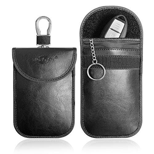 MONOJOY Faraday Pouch for Car Keys, Car Key Signal Blocker, 2 Pack Faraday...