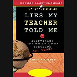 Lies My Teacher Told Me audiobook cover art