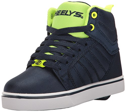 Heelys Jungen Uptown High-Top, Blau (Navy/Yellow Ballistic), 32 EU