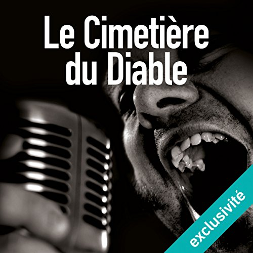 Le Cimetière du diable audiobook cover art