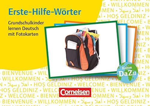 Deutsch lernen mit Fotokarten - Grundschule: Erste-Hilfe-Wörter - 250 Bildkarten