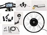 NBPower 66cm 48V 1500W Vélo électrique kit de conversion, Ebike kit, 1500W Moteur...