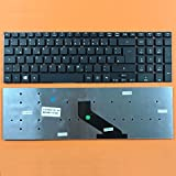 kompatibel für Acer Aspire E5-731 Tastatur Farbe: schwarz - Ohne Beleuchtung, Ohne Rahmen - Deutsches Tastaturlayout - Version 1