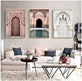 Marokko Tür Landschaft Religion Nordic Bilder Poster