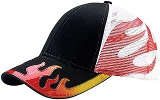 MC Hot Rod Flame Trucker Mesh Baseball Cap