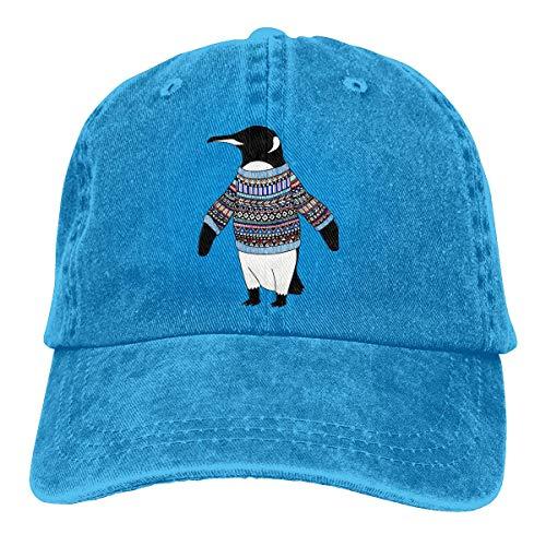 Lotus Leaf fragancia pingüino sombrero elegante deportes ajustable Cowboy Cap gorra de béisbol