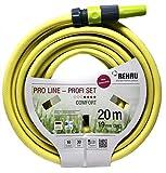 REHAU Gartenschlauch PRO LINE, 5-teiliges Profi-Set mit Anschlussstücken + Spritze, umweltfreundliche Materialien, schadstoffrei, 19mm (3/4') 20m