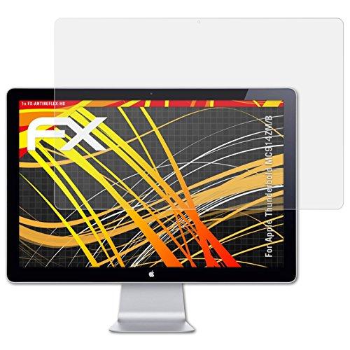 atFolix Schutzfolie kompatibel mit Apple Thunderbold MC914ZM/B Displayschutzfolie, HD-Entspiegelung FX Folie