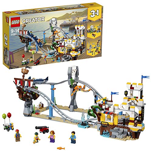 LEGO® Creator 3-in-1 Piraten-Achterbahn (31084) kreatives Kinderspielzeug