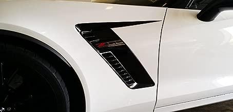 C7 Corvette Stingray/Z06/Grand Sport Side Spear Shadow Stripe - Pair Z06 Matte Black