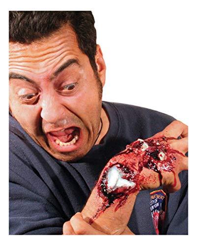 Horror-Shop Plaie Ouverte Fracture osseuse