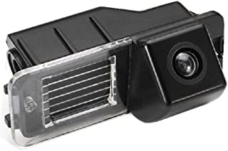 Reversing Vehicle-Specific Camera Integrated in Number Plate Light License Rear View Backup Camera for VW EOS, Golf V MK5, Passat B7 CC, VW Golf VI MK6 VW Amarok/Robust Seat Leon Altea Skoda Superb I