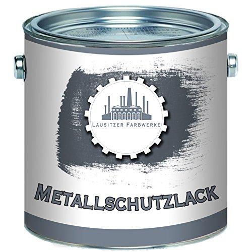 Lausitzer Farbwerke Metallschutzfarbe traditioneller Metallschutzlack Metallfarbe Metalllackperfekter Schutzlack fürmetallische Untergründe