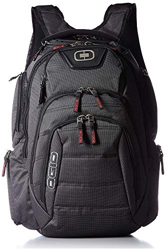OGIO Renegade RSS Day Pack, Large, Black Pindot