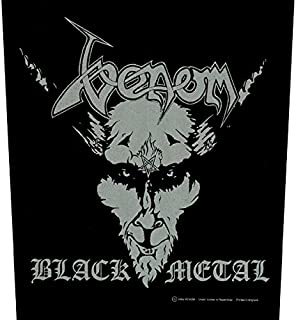 Venom Back Patch: Black Metal