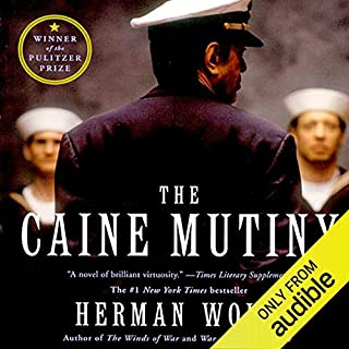 The Caine Mutiny audiobook cover art