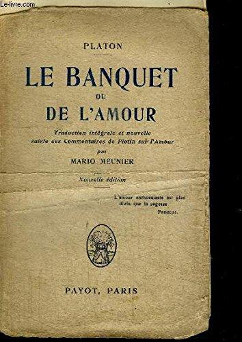 LE BANQUET DE L'AMOUR