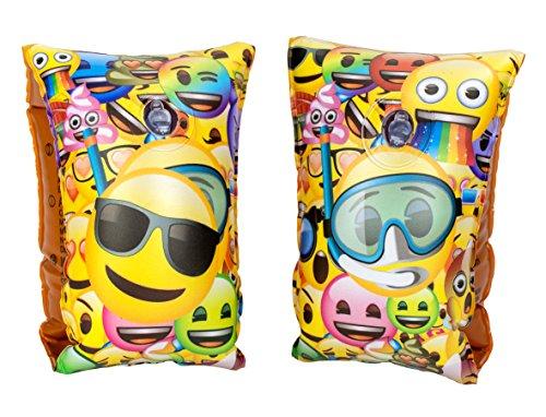 Emoji -25459 Set Manicotti Gonfiabili, Multicolore (Saica 5889)