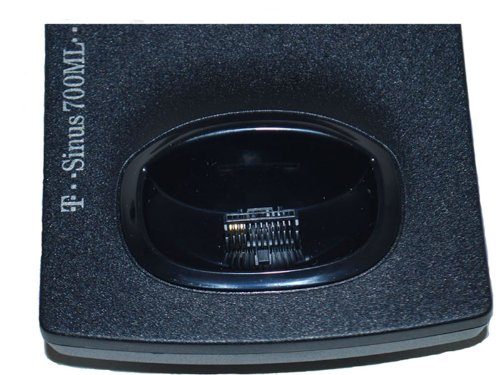 Ladeschale mit Netzteil T-Sinus 700ML in schwarz
