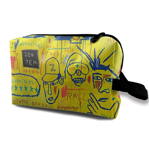Rucksack Jean Michel Basquiat Hollywood Africans Large Capacity Travel Cosmetic Bag