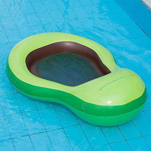 Towinle Luftmatratze Wasserhängematte Perfekte Badehängematte Avocado Aqua Lounge Aufblasbare Schwimmbad Matratze