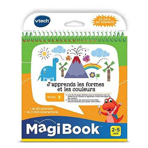 Vtech - Livre Magibook - J'apprends les couleurs les formes et les couleurs - Version FR