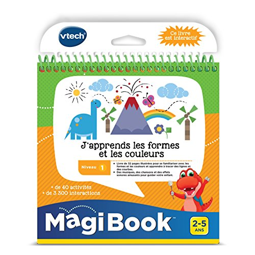 Vtech - Livre Magibook - J'apprends les couleurs les formes et les couleurs