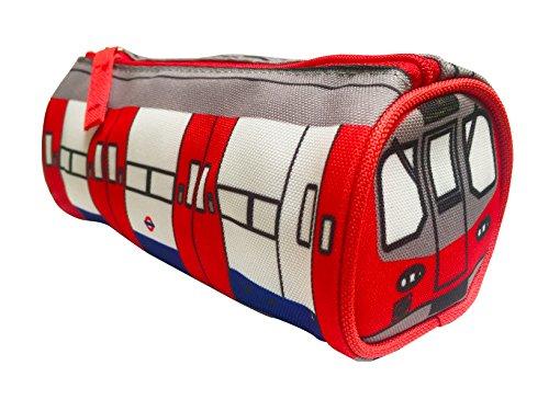 Estuche de trenes de metro de Londres en 3D