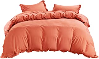 Home Textiles,New Polyester Quilt Cover Multiple Colors Gift Soft Feel Bedding 3 Pcs Home & Garden