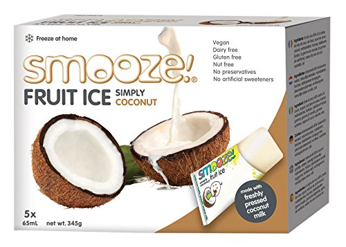 Smooze! Fruit Ice Simply Coconut 5 x 65ml