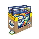 Dash All in 1 Pods Detersivo Lavatrice in Capsule, 108 Lavaggi (2 x 54), Salva Colore, Maxi Formato, Pulizia Profonda, Per Tutti I Capi
