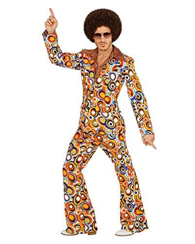 70er Jahre Bubbles Anzug als Herrenkostüm für Fasching L