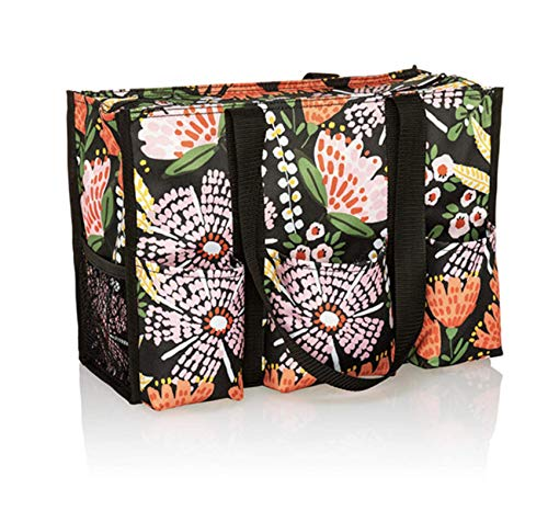 Thirty One Zip Top Organizing Utility Tote (4451) in Island Nights
