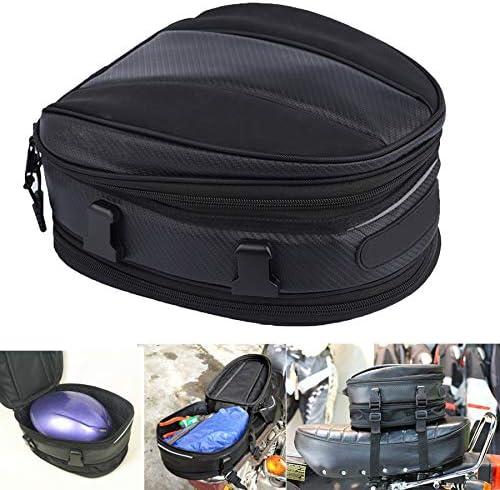 Motorcycle Tail Bag Waterproof Bag Motorbike Saddle Bag Motorcycle Backpack Waterproof Multifunctional product image
