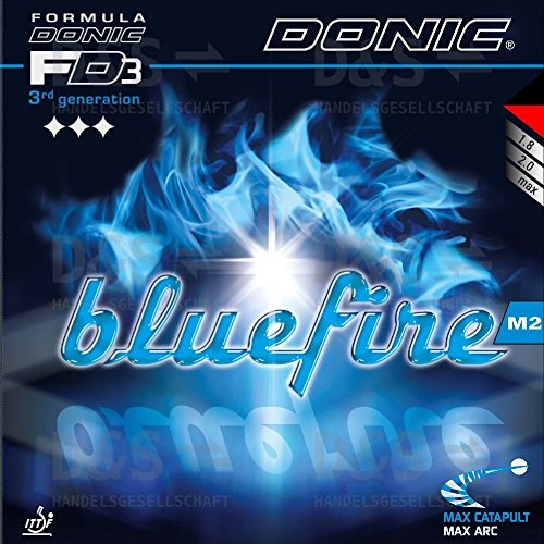 Donic gomma Bluefire m2, 2mm, rosso