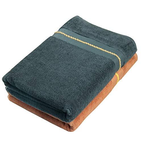 Bath Towel Large Set, Bath Sheets Extra Large Bathroom Towels, Bamboo...