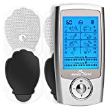 Mini Electronic Pulse Stimulator - Easy@Home TENS Unit Muscle Massager - 510K Cleared for OTC Use Handheld Pain Relief Therapy Device – Pain Management on The Shoulder, Joint, Back, Leg&More (EHE029N)