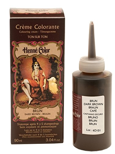 Henné Color: Brown (braun) Henna - Tönungscreme (90 ml)