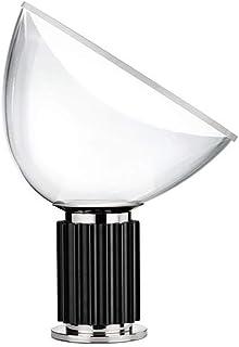 Flos - Lámpara de mesa, vidrio aluminio, Negro , 373 x 142 x 485 mm