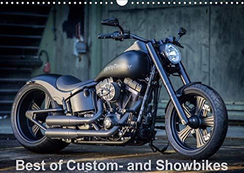 Best of Custom- and Showbikes Kalender (Wandkalender 2021 DIN A3 quer)