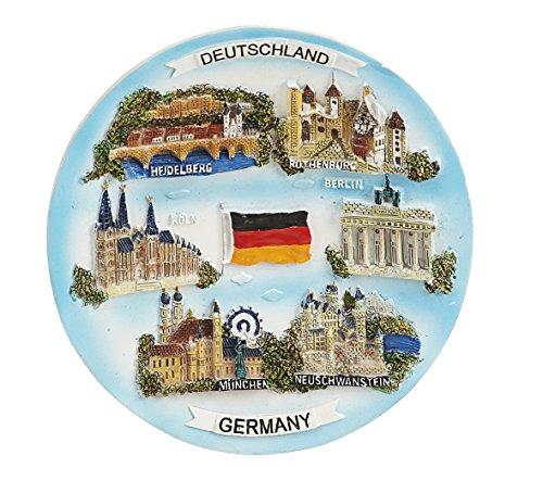 Sunny toys 12676 Poly Teller Deutschland Circa 15 cm mit Ständer