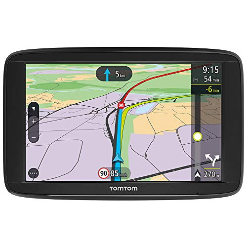 TomTom GPS Voiture VIA 62 - 6 Pouces, Cartographie Europe 49