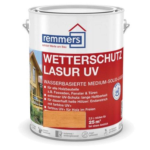 Remmers Wetterschutz-Lasur UV - pinie/lärche 5L