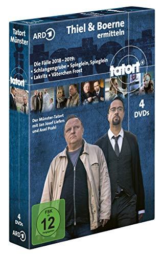 Tatort Münster - Thiel und Boerne ermitteln / Die Fälle 2018-2019 [4 DVDs]