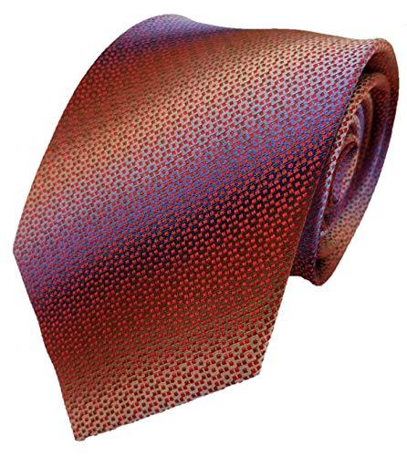 Silk Ties stropdas zijde ruiten & doos 8,5 cm
