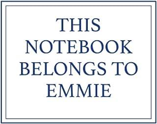This Notebook Belongs to Emmie