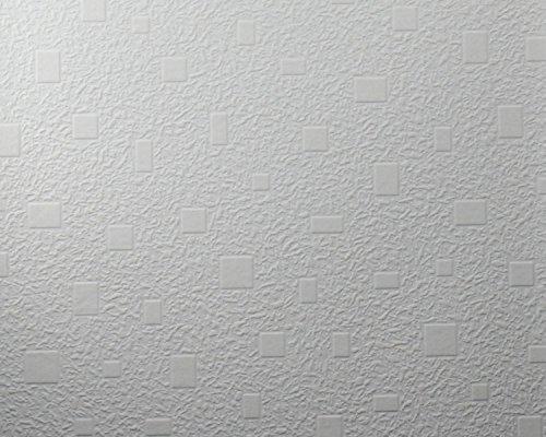Marburger Decke Tapete in weiß (geweißt - kein Überstreichen mehr notwendig!) (Nr. 6073-3059)