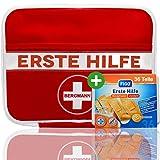 """Erste Hilfe Set""""BERGMANN"""" 3 in 1 【125 teilige Deutschsprachiger Inhalt】+"""
