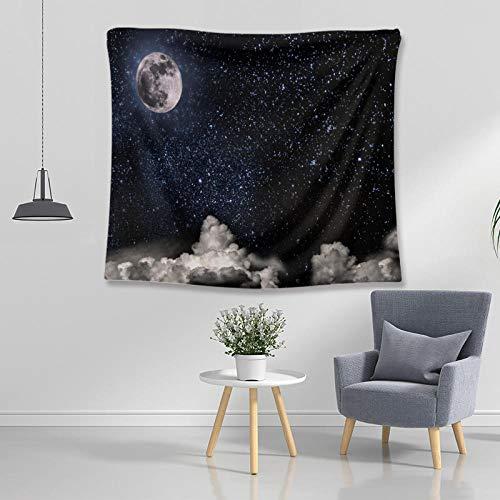 Obrand Tapiz Tapiz de Pared Tapices de Pared,Psychedelic Constellation Galaxy Universe Tapices Decoración para Dormitorio Sala de Estar Dormitorio